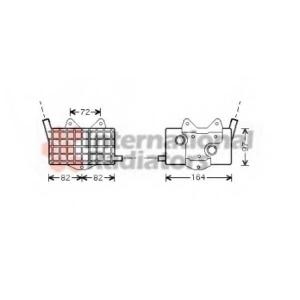 VAN WEZEL 30003294 Oil radiator