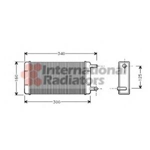 VAN WEZEL 30006108 Heater radiator