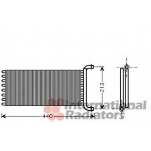 VAN WEZEL 30006399 Heater radiator
