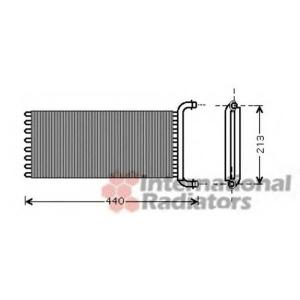 VAN WEZEL 30006441 Heater radiator