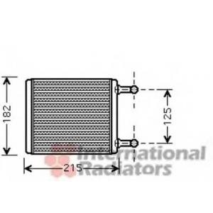VAN WEZEL 30006442 Heater radiator