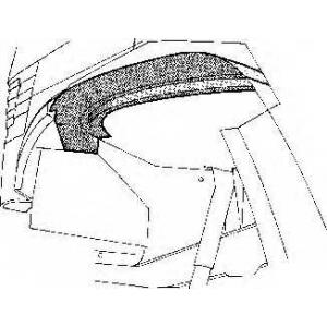 VAN WEZEL 3070358 Внутренняя часть крыла