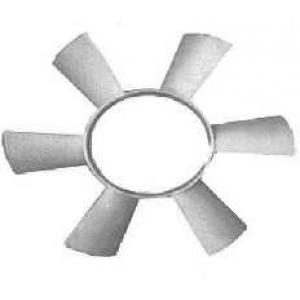 VAN WEZEL 3075742 Крыльчатка вентилятора, охлаждение двигателя