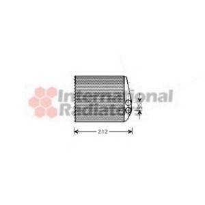 VAN WEZEL 37006354 Радиатор отопителя OPEL (пр-во Van Wezel)
