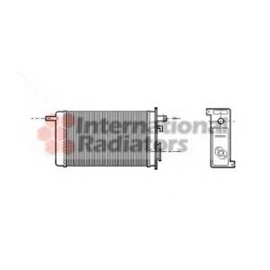 VAN WEZEL 43006096 Heater radiator