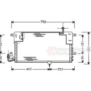 VAN WEZEL 58005141 AC condenser