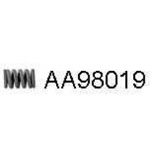VENEPORTE AA98019 Пружина, труба выхлопного газа