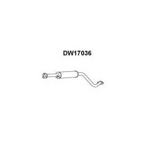 VENEPORTE DW17036 Предглушитель выхлопных газов