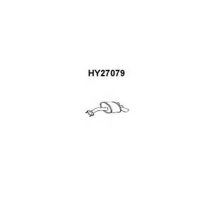 VENEPORTE HY27079 Глушитель выхлопных газов конечный