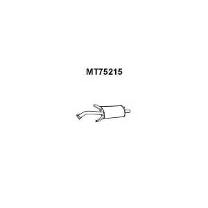 VENEPORTE MT75215 Глушитель выхлопных газов конечный