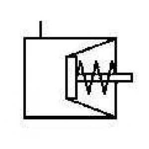 WABCO 423 107 900 0 Тормозная пневматическая камера