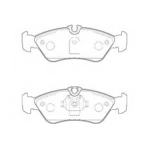 Комплект тормозных колодок, дисковый тормоз wbp21592a wagner - MERCEDES-BENZ SPRINTER 3-t c бортовой платформой/ходовая часть (903) c бортовой платформой/ходовая часть 308 D 2.3