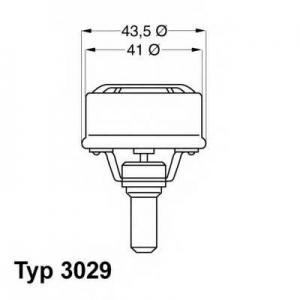 Термостат, охлаждающая жидкость 302983 wahler - RENAULT 5 (122_) Наклонная задняя часть 0.8 (1221, 1391, 1220)