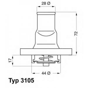 ���������, ����������� �������� 310587d wahler - FIAT PANDA (141A_) ��������� ������ ����� 750 (141AA)