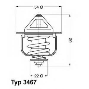 WAHLER 3467.85D Термостат