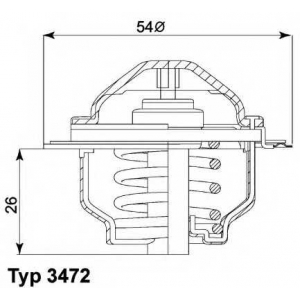���������, ����������� �������� 347287d wahler - VW PASSAT Variant (3C5) ��������� 2.0 TDI