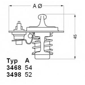 ���������, ����������� �������� 349888d wahler - MAZDA 626 III (GD) ����� 2.2 12V