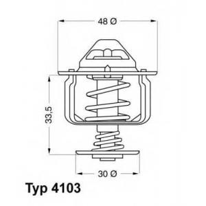 WAHLER 4103.82D Термостат