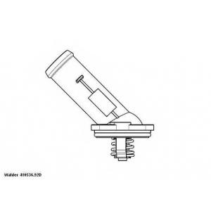 Термостат, охлаждающая жидкость 41053692d wahler - VW PASSAT (362) седан 1.6 TDI