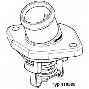 WAHLER 410989.87D Термостат SEAT/SKODA/VW Cordoba,Ibiza II,Felicia,Golf 1,0-1,6V