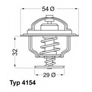 415488d wahler Термостат, охлаждающая жидкость