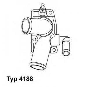 Термостат, охлаждающая жидкость 418892d wahler - OPEL VECTRA B (36_) седан 2.0 DI 16V
