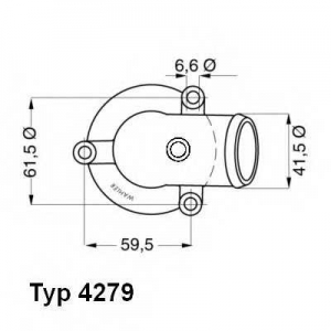 WAHLER 4279.87D Термостат