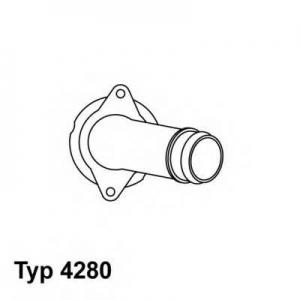 Термостат, охлаждающая жидкость 428080d wahler - MERCEDES-BENZ S-CLASS (W140) седан S 350 Turbo-D (140.134)