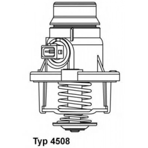 Термостат, охлаждающая жидкость 4508105d wahler - BMW 6 кабрио (F12) кабрио M