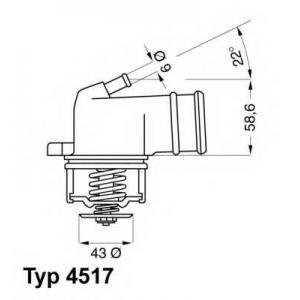���������, ����������� �������� 451787d wahler - MERCEDES-BENZ SL (R129) ������ 600 (129.076)