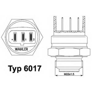����������������, ���������� ���������; ���������� 601795d wahler - AUDI 80 (81, 85, B2) ����� 1.6
