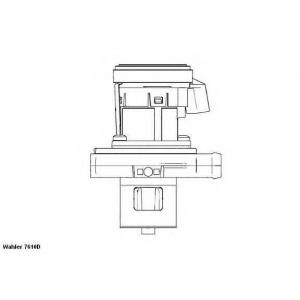 Клапан возврата ОГ 7610d wahler - MERCEDES-BENZ SPRINTER 3-t фургон (906) фургон 209 CDI (906.611, 906.613)