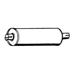 WALKER 13502 Глушитель выхлопных газов конечный