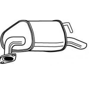 WALKER 23080 Глушитель выхлопных газов конечный