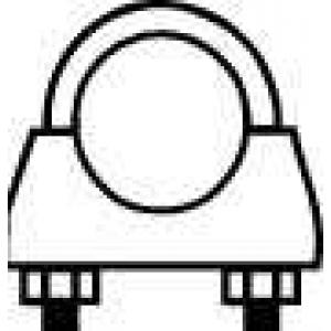 WALKER 82309 Exhaust bracket
