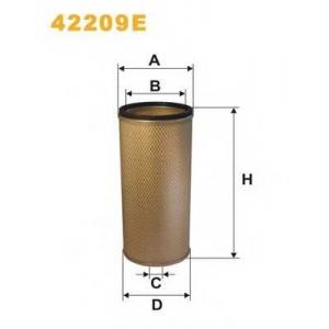 Фильтр добавочного воздуха 42209e filtron - RENAULT TRUCKS Midliner  S 220.14TI/T