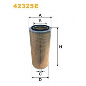 WIX FILTERS 42325E Фильтр воздушный 42325E/408 (пр-во WIX-Filtron)