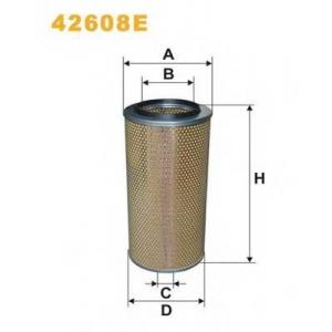WIX 42608E Фильтр воздушный DAF, MB, SCANIA 42608E/AM402 (пр-во WIX-Filtron UA)