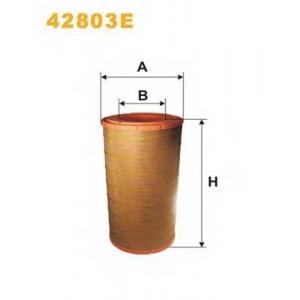 WIX 42803E Фильтр воздушный DAF (TRUCK) 42803E/AM447/1 (пр-во WIX-Filtron UA)