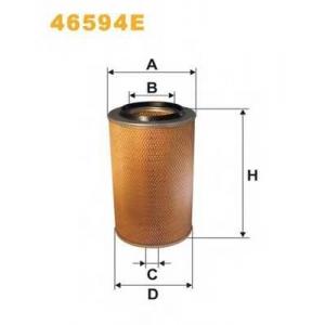 Воздушный фильтр 46594e filtron - MAN SR  SR 240
