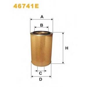 WIX 46741E Фильтр воздушный MAN, IVECO 46741E/AM401/1 (пр-во WIX-Filtron UA)