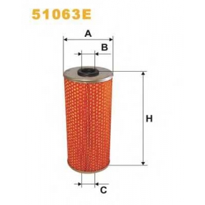 WIX 51063E Фильтр масляный MB 51063E/OM513 (пр-во WIX-Filtron UA)