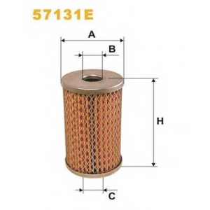 WIX FILTERS 57131E Фильтр масляный (смен.элем.) рулевое упр. 57131E/OM512 (пр-во WIX-Filtron)