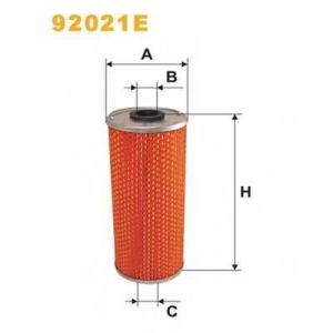 WIX FILTERS 92021E Фильтрующий элемент масляного фильтра