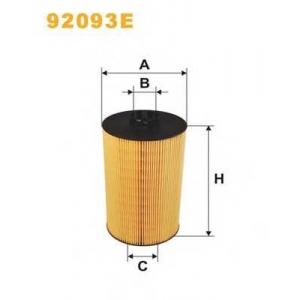 WIX FILTERS 92093E Фильтр масляный 92093E/OE646/2 (пр-во WIX-Filtron)