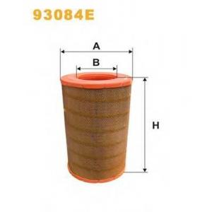 WIX 93084E Фильтр воздушный MAN 93084E/AM446 (пр-во WIX-Filtron UA)
