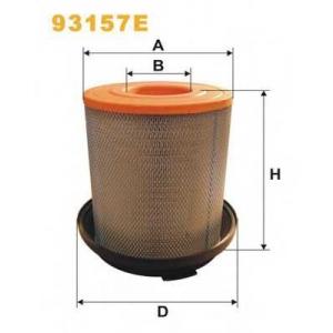 Воздушный фильтр 93157e wix - MERCEDES-BENZ ATEGO  712