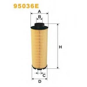 WIX FILTERS 95036E Фильтр топл. MAN TGA 95036E/PE977 (пр-во WIX-Filtron)