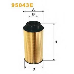 WIX FILTERS 95043E Фильтр топл. 95043E/PE983 (пр-во WIX-Filtron)