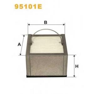 Топливный фильтр 95101e wix -